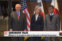 Ministers of 16 countries to gather in Vancouver to talk North Korea issues