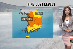 Mild and dusty start to the ne