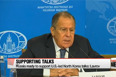 Russia ready to support U.S.-led North Korea talks... if dual-freeze implemented: Lavrov