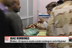 38 killed, 105 injured in double suicide bombings in central Baghdad