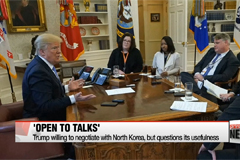 Trump willing to negotiate wit
