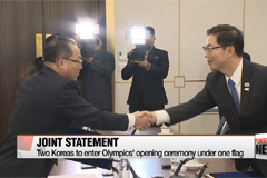 Two Koreas fine tune details of N. Korea's participation in PyeongChang Winter Olympics and Paralympics