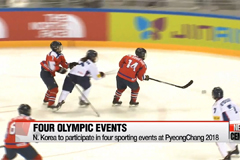 N. Korean athletes to participate in four events at Winter Olympics