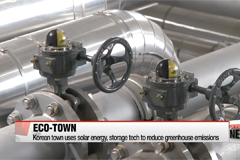 Eco-friendly town generates energy, reduces greenhouse gas emissions
