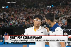 Chung Hyeon beats Novak Djokovic, advances to quarter finals of Australian Open