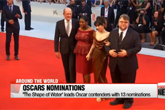 'The Shape of Water' leads Oscar contenders with 13 nominations