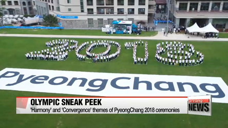 'Harmony' and 'Convergence' unveiled as themes of PyeongChang 2018 ceremonies