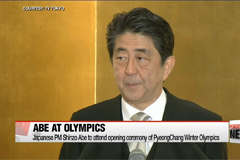 Japanese PM Shinzo Abe to attend opening ceremony of PyeongChang Winter Olympics
