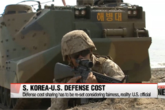 S. Korea-U.S. defense cost sharing has to be re-set considering fairness, reality: U.S. official