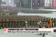 Satellite images of N. Korea's training facility show preparatory movement for KPA Foundation Day