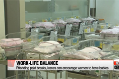Providing childbirth breaks, paid maternity leave encourage women in workforce