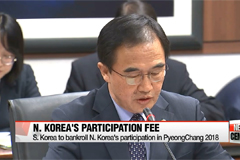 S. Korean gov't to hold meeting to bankroll N. Korea's Olympic participation