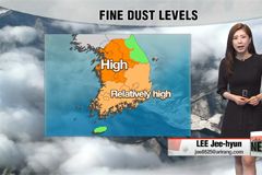 Mild highs but dusty in many parts