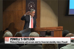 Federal Reserve will remain alert to financial stability risks: Powell
