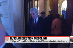 U.S. Special Counsel Robert Mueller indicts 13 Russians for election interference