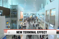 Incheon Airport's new terminal processing over a quarter of passengers
