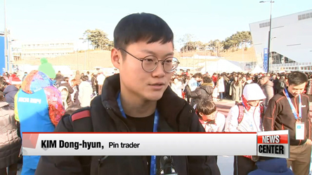 0219  Inside the pin trading scene at the 2018 PyeongChang Olympics