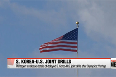 Pentagon to release details of delayed S. Korea-U.S. joint drills after Olympics: Yonhap
