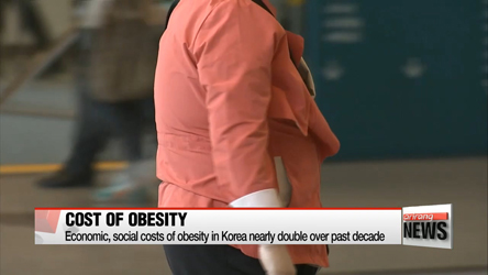 Economic and social costs of obesity in Korea nearly double to about $8.4 bil. over past decade
