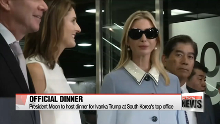 President Moon to host dinner for Ivanka Trump at South Korea's top office
