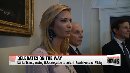 President Moon to dine with Ivanka Trump, meeting between U.S. and North Korean delegates unlikely