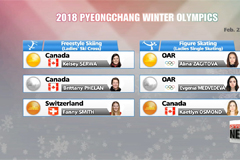 PyeongChang Winter Olympics Day 14