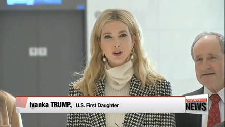 Ivanka Trump arrives in S. Korea to head U.S. delegation for PyeongChang closing ceremony
