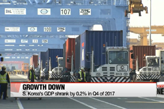 S. Korea's GDP shrank by 0.2% in Q4 of 2017