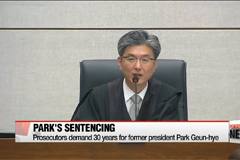 Prosecutors demand 30 years for ousted leader Park
