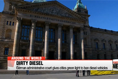 German administrative court gives cities green light to ban diesel vehicles