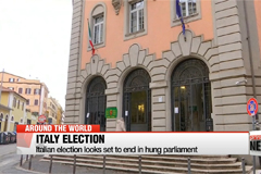 Italian election looks set to end in hung parliament