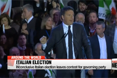 Inconclusive Italian election leaves contest for governing party