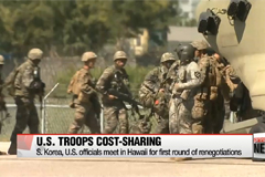 S. Korea, U.S. officials meet in Hawaii for first round of renegotiations of U.S. troops cost-sharing