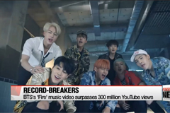 BTS's 'Fire' music video surpasses 300 million YouTube views