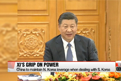 Xi Jinping's new power to pose risks, opportunities for S. Korea
