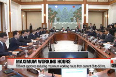 Cabinet approves bill on reduced maximum working hours