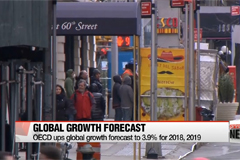 OECD ups global growth forecast to 3.9% for 2018, 2019