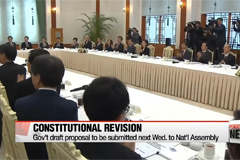 Main opposition party unveils road map for constitutional revision