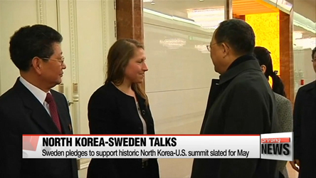 North Korea, Sweden extend talks to third day