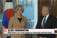 South Korea, U.S. top diplomats agree close cooperation over mutual North Korea talks