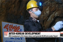 Joint development of N. Korean mines could generate 90,000 jobs yearly: report