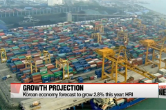 Korean economy forecast to grow 2.8% this year: HRI