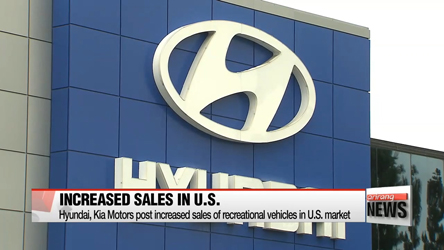 Hyundai, Kia Motors post increased sales of RVs in U.S.