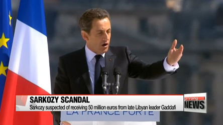 Former French President Sarkozy questioned over suspected kick backs from ex-Libyan regime