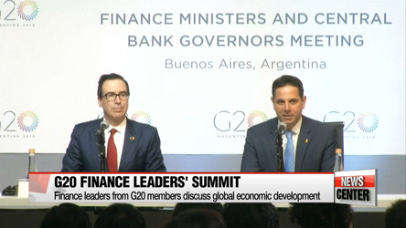 G20 financial leaders get together to discuss global economic developments