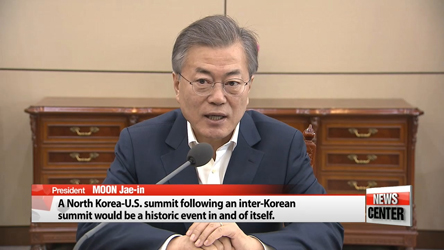 S. Korea to propose March 29 talks with N. Korea; Moon hints at possibility of S. Korea-N. Korea-U.S. summit
