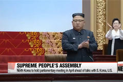 North Korea to hold parliamentary meeting in April ahead of talks with S. Korea, U.S.
