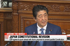 Japan's ruling LDP to push ahead with Abe's proposal to amend pacifist Constitution
