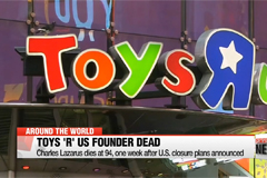 "Toys ""R"" Us founder Charles Lazarus dies at 94"