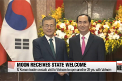 South Korean President Moon Jae-in's state visit to Vietnam has twofold purpose